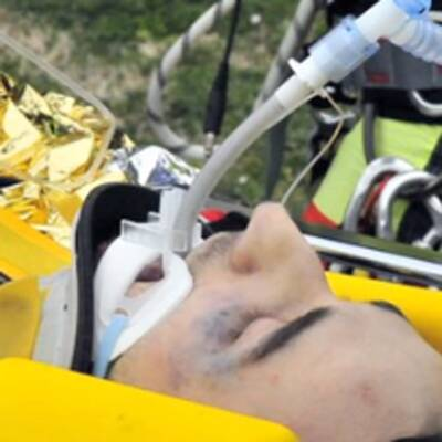 F1-Pilot Kubica crasht im Rallye-Auto