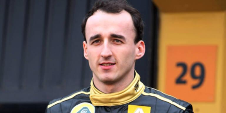 Kubica bestreitet 2011 kein Rennen mehr