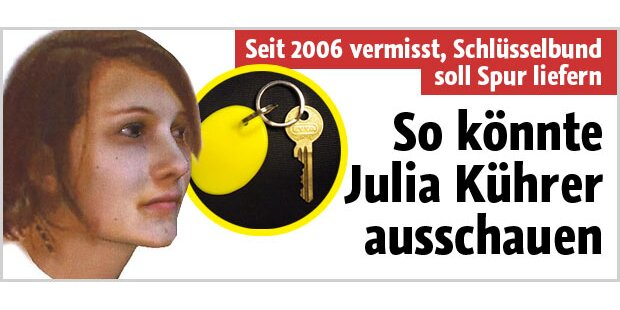 So könnte Julia Kührer heute ausschauen