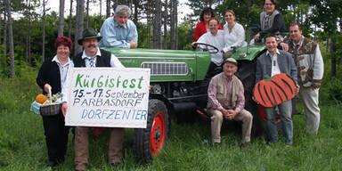 Kürbisfest in Parbasdorf