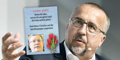 Richard Schmitt Küssel-Anzeige