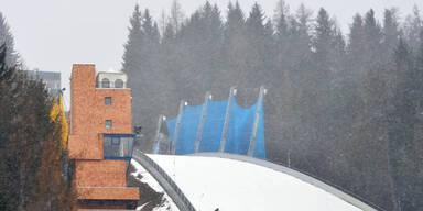 Skiflug-Weltcup am Kulm abgesagt