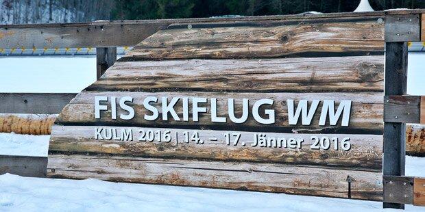 Skiflug WM am Kulm