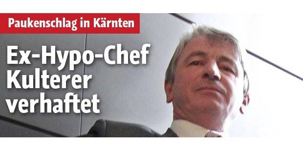 Ex-Hypo-Chef Kulterer verhaftet