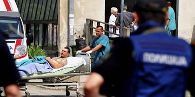 Mazedonien: 22 Tote bei Unruhen