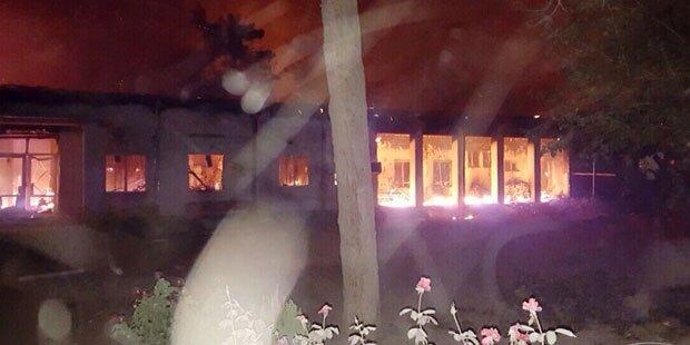 Luftangriff auf Krankenhaus: 9 Tote