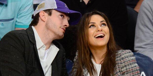 Kutcher & Kunis: Erst Baby, dann Hochzeit