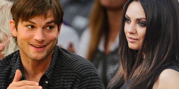 Kutcher & Kunis: Liebesurlaub auf Bali