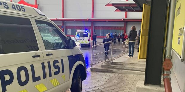 Ein Toter und 10 Verletzte in Finnland
