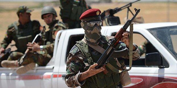 Irak: Kurden melden erste Erfolge