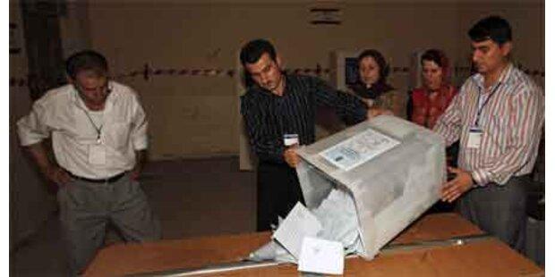 Hohe Beteiligung bei Kurden-Wahl