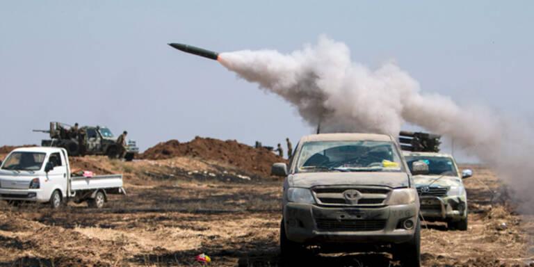 ISIS verschanzt sich in Raqqa