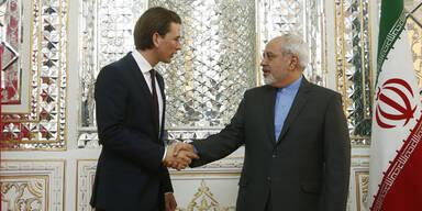 Kurz: Glitzernder Besuch in Teheran
