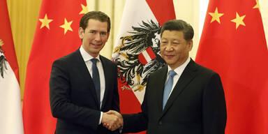 Kurz sprach mit Chinas Präsident über Beziehungen zu EU und USA