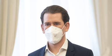 Sebastian Kurz mit Maske