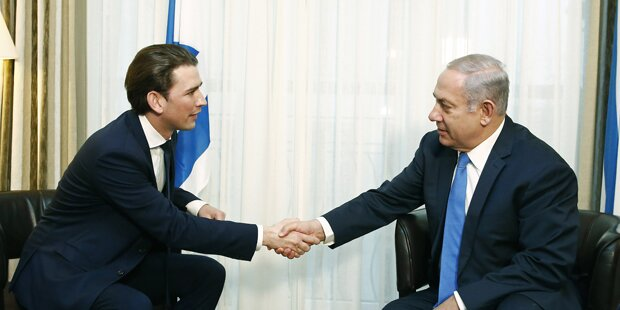 Kurz: Treffen mit Israels Netanjahu