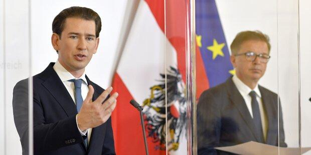 Österreich drückt auf die Stopptaste