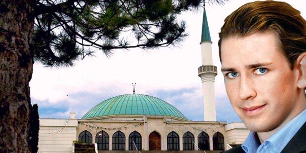 Staatssekretär Kurz startet Islam-Offensive