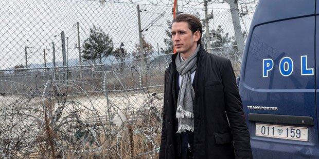 Kurz: Schließung der Balkanroute hat funktioniert