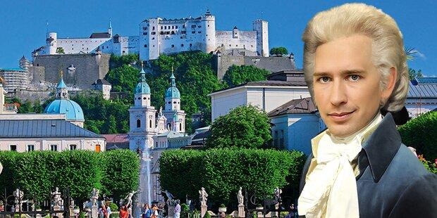 Kurz-Festspiele in Salzburg