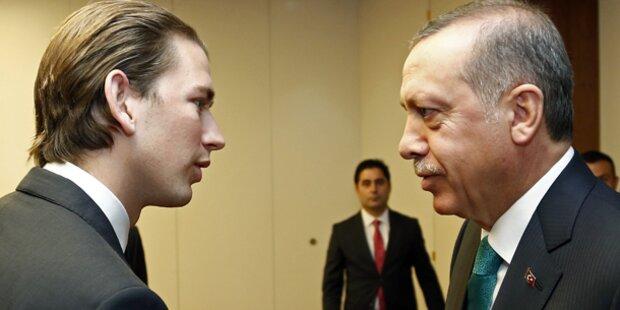 Kurz zu Erdogan: