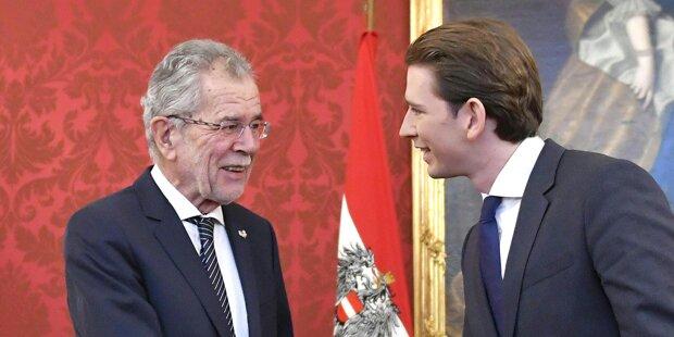 Strebt VdB immer noch eine ÖVP-Minderheitsregierung an?
