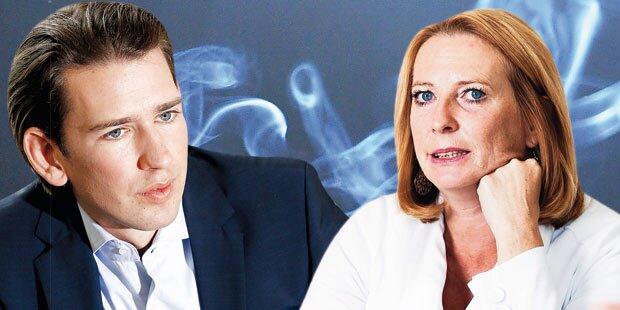 Österreich für Rauchverbot