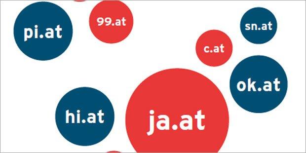 """"""".at""""-Kurzdomains jetzt für alle"""