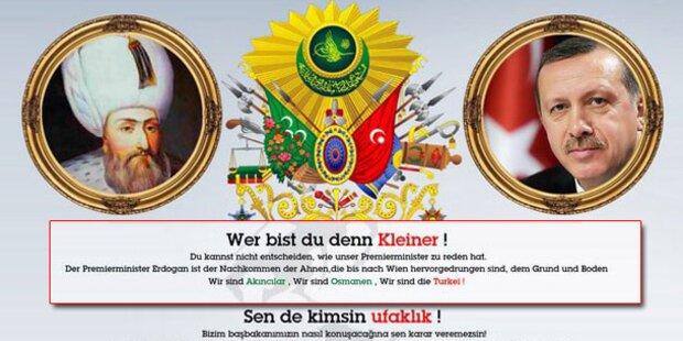 Erdogan-Fans griffen Homepage von Kurz an