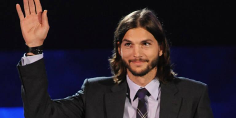 Kutcher: Auftritt bei Clinton-Gala