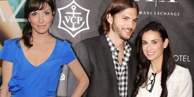 Kutcher turtelt mit Neuer auf Madonna-Party