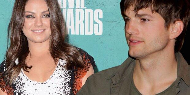 Kutcher & Kunis: Baby schon unterwegs?