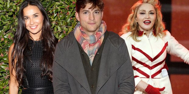 Madonna & Demi: Streit wegen Ashton