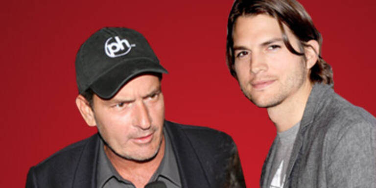 Ashton Kutcher soll Sheens Serie retten