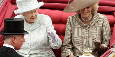 Queen feierte 4 Tage durch