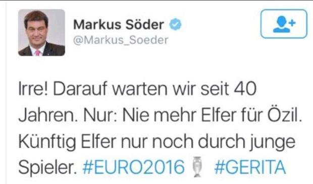 bayrischer politiker