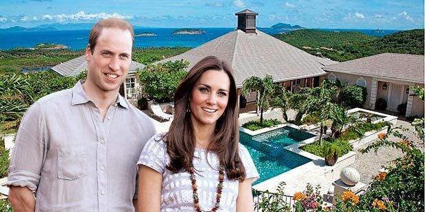 Traum-Urlaub für Kate & William