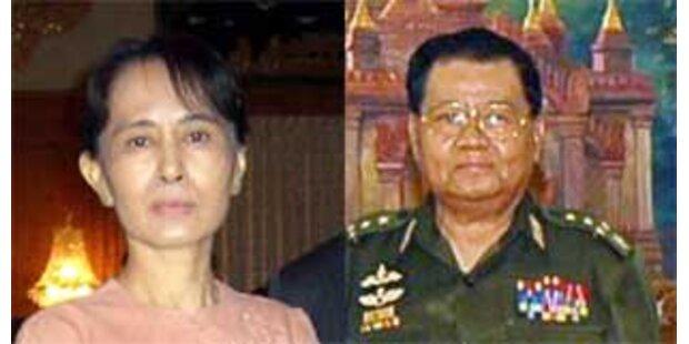 Oppositionsführerin für Dialog mit Militärjunta