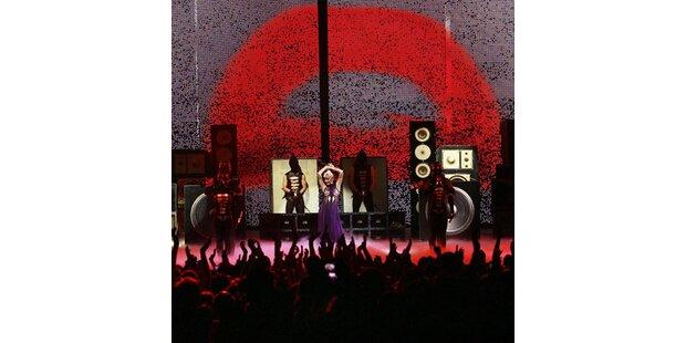 Kylie Minogues Glam-Zug überrollte Wien