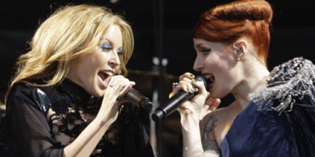 Kylie überraschend beim Glastonbury