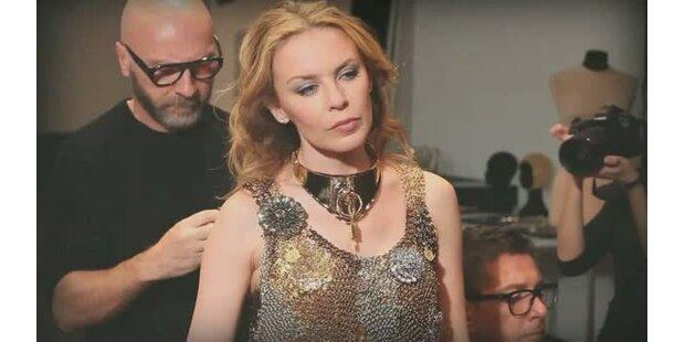 Garderobe für Kylies Tour 2011