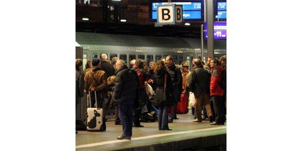 Züge stehen heute für 2 Stunden still