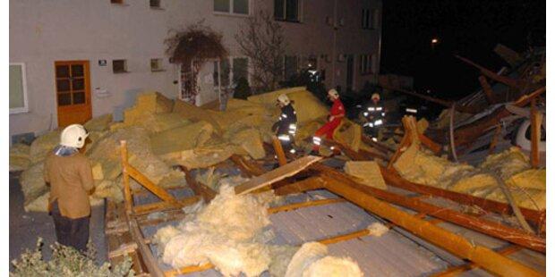 Dutzende Häuser in Niederösterreich evakuiert