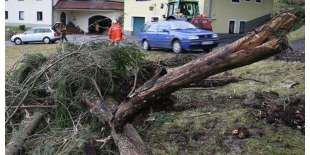 Sturmtipps für Autofahrer