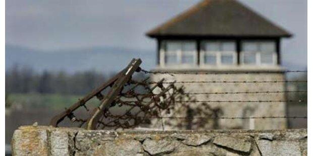 Vandalen beschmieren KZ Mauthausen