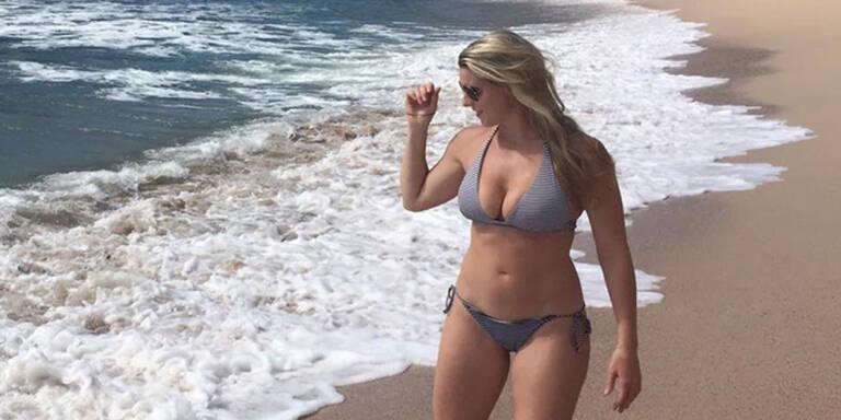 Dieses Bikinifoto sorgt für Aufregung