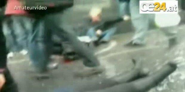 Amateurvideo: Direkt nach dem Anschlag