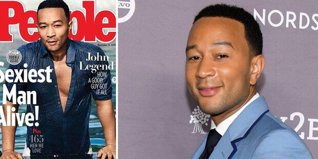 John Legend ist 'Sexiest Man Alive'