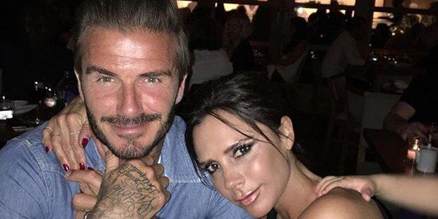 Beckham: Süße Liebeserklärung
