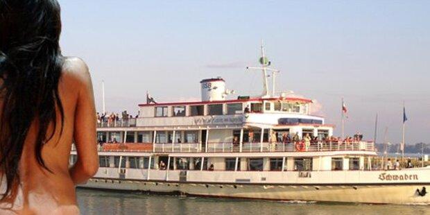 Sex-Schiff stach im Bodensee in See